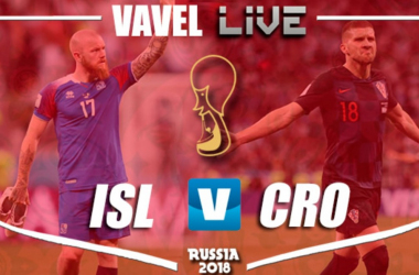 Iceland vs Croatia Live Stream Score Commentary in 2018 World Cup