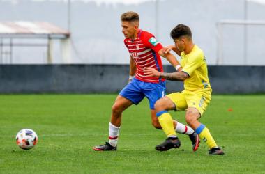 Isma Ruiz en el partido contra Las Palmas Atlético | Foto: Granada CF
