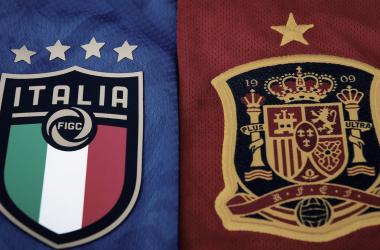 Italia - España el auténtico duelo de titanes | Fotografía: UEFA