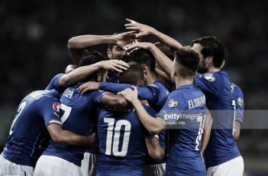 A seleção da Itália é uma das apuradas para o Euro 2016