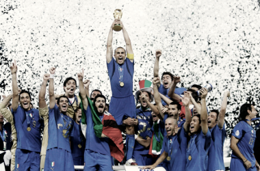 Italia: la tricolor que se viste de azul