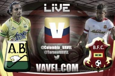 Resultado Bucaramanga - Barranquilla en el Torneo Águila 2015 (2-0)