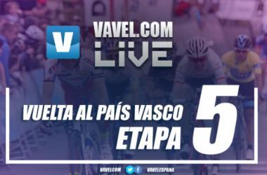 Resultado etapa 5 de la Vuelta al País Vasco 2017: Valverde vence en Arrate y es líder