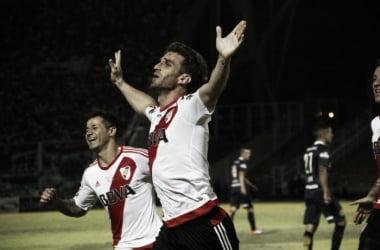 Alonso tuvo 20 minutos en cancha y le dio a River la Copa Argentina (Foto: Web).