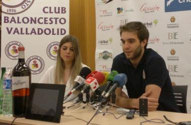 Iván Martínez, capitán del CB Valladolid, hace balance de la temporada. (Imagen: Alberto Blanco Paredes).