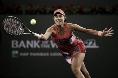 Ivanovic y Pliskova aguantan sus partidos pero Wozniacki perdió tras una lucha agónica