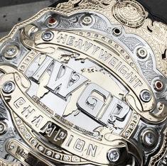 Campeonato Mundial de NJPW   Fuente: pinmg.com