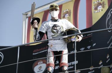 Izan Guevara, vencedor del mundial Moto3 Junior y de la ETC 2020 | Foto: fimcevrepsol.com