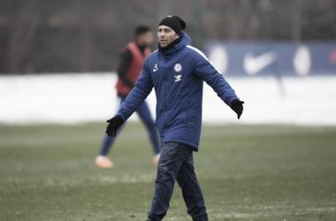 """Antonio Conte, frustrado: """"El Manchester City ganó la liga a mitad de temporada"""""""