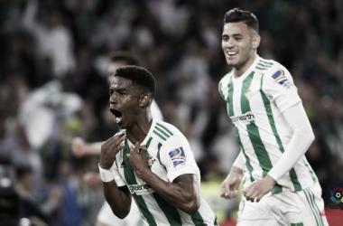Junior Firpo, autore del gol vittoria nella partita contro il Las Palmas. Fonte: LaLiga.es
