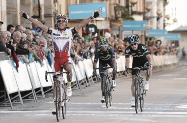 Rodriguez won for the first time in over a year. (Image: Tim De Waele/velonews)