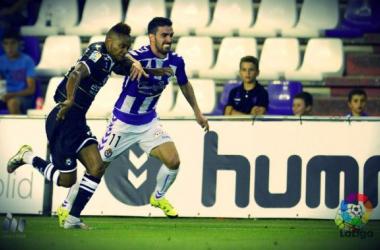 El Real Valladolid suma sus tres primeros puntos ante su público