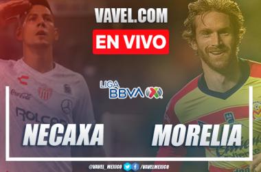 Goles y resumen del Necaxa 1-2 Monarcas Morelia en Liga MX 2020