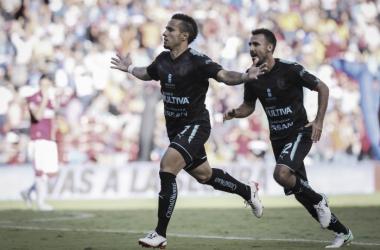 Sanvezzo marcó el tanto definitivo | (Foto: Club Querétaro)