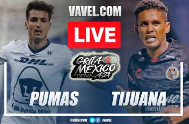 Goals and Highlights: Pumas 3-1 Xolos in Liga MX 2021
