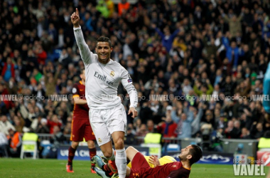 Fotos e imágenes del Real Madrid 2-0 AS Roma de octavos de final de Champions League