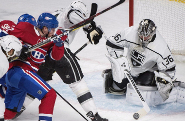 Jack Campbell: Strong play bright spot in woeful Kings' season