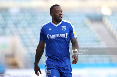 Jackson admitted the Gillingham team was frustrated with their midweek defeat against AFC Wimbledon | photo by James Chance - Getty Images