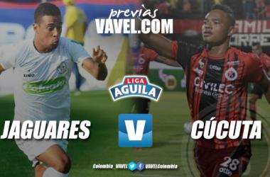 Previa Jaguares de Córdoba vs Cúcuta Deportivo: distintas realidades y un mismo objetivo, los tres puntos