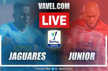 Resumen Jaguares vs Junior (0-2) en la fecha 16 por Liga BetPlay 2021-I