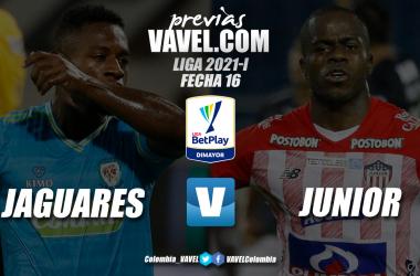 Previa Jaguares vs Junior de Barranquilla: dos rivales directos en busca de un cupo en los ocho
