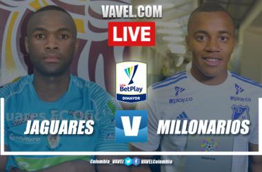 Resumen y goles Jaguares 4-1 Millonarios en liga BetPlay 2020-I