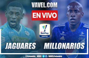 Resumen Jaguares vs Millonarios 4-3 en la fecha 11 por Liga BetPlay 2021-II