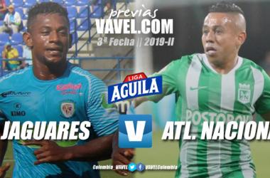 Previa Jaguares vs Atlético Nacional: ambos quieren regresar al camino del triunfo