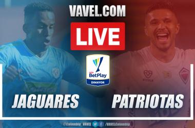 Resumen Jaguares vs Patriotas (3-2) en la fecha 11 por Liga BetPlay 2021-I