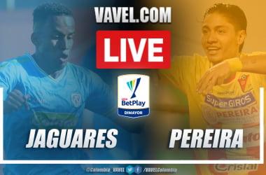 Resumen Jaguares vs Pereira (2-0) en la fecha 9 por Liga BetPlay 2021-I