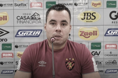 Jair Ventura afirma que Sport foi 'penalizado em um detalhe' em derrota para Coritiba