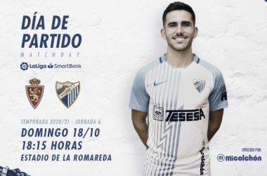 Previa Real Zaragoza - Málaga CF: un sistema de juego para un equipo nuevo