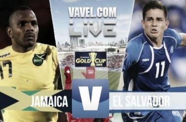 Score Jamaica - El Salvador in Gold Cup 2015 (0-0)