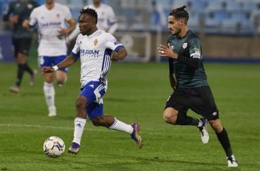 James durante el partido contra el Rayo Vallecano/ Foto: Real Zaragoza