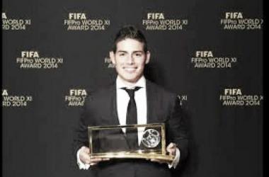 """James Rodríguez: """"Estoy feliz por llevarme el mejor gol"""""""