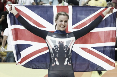 James won silver in the women's keirin last night / The Sun