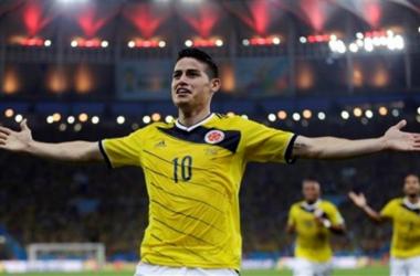 James, el del mejor gol en Brasil 2014