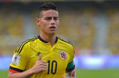James Rodríguez estaría frente a Brasil