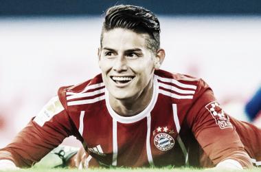 James aproveitou os resultados positivos a favor do Bayern e jogou a pressão para o Dortmund (Foto: Bundesliga)