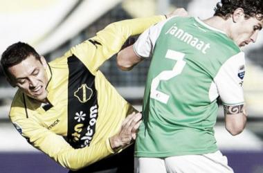 Com gols na primeira etapa, Feyenoord e NAC Breda ficam no empate
