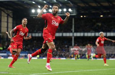 Joshua King scored a hattrick on his return to Merseyside | Credit: Jan Kruger / Getty Images