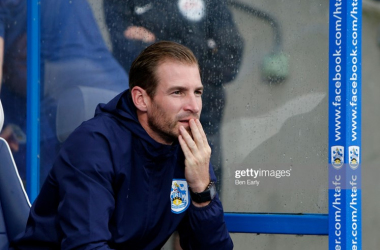 Huddersfield Town manager Jan Siewert is already under pressure. Photo: Ben Early/Getty Images.