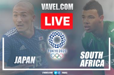 Gol e melhores momentos Japão x África do Sul pelas Olimpíadas de Tóquio (1-0)