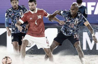 Goals and Highlights Russia vs Japan in Beach Soccer World Cup (5-2)
