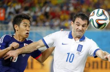Japón - Grecia, puntuaciones de Grecia, jornada 2, grupo C
