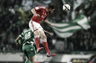 Jardel empatou derby nos segundos finais (Foto via: A Bola)