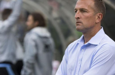 Jason Kreis on the sidelines. Greg Bartram-USA TODAY Sports