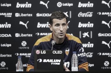 """Javi Gracia: """"Me niego a decir que no voy a competir por algo importante con este club"""""""