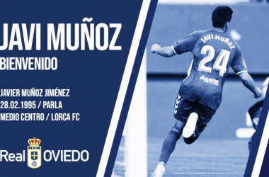 Javi Muñoz, quinto fichaje del Real Oviedo | Imagen: Real Oviedo