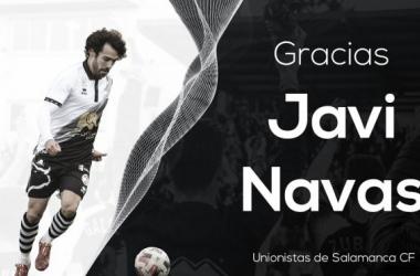 Unionistas rescinde el contrato de Javi Navas